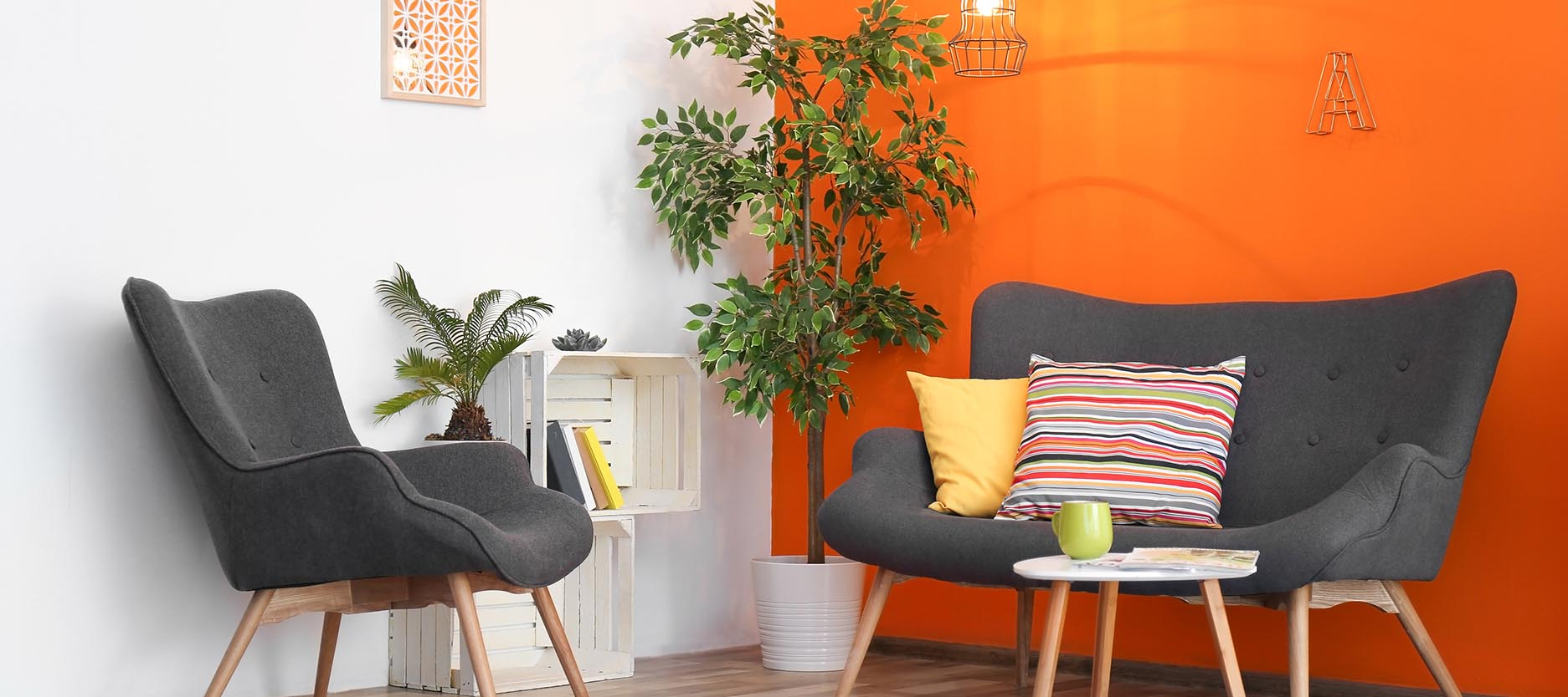 5 Colour Combinations That Go with Orange for Your Home