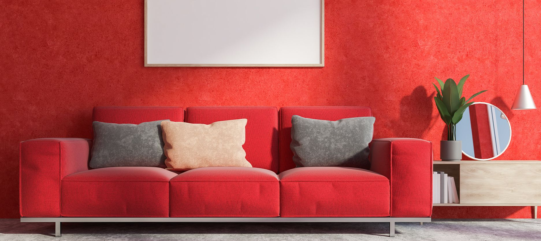5 Different Shades of Red Wall Paint Colour for Your Home