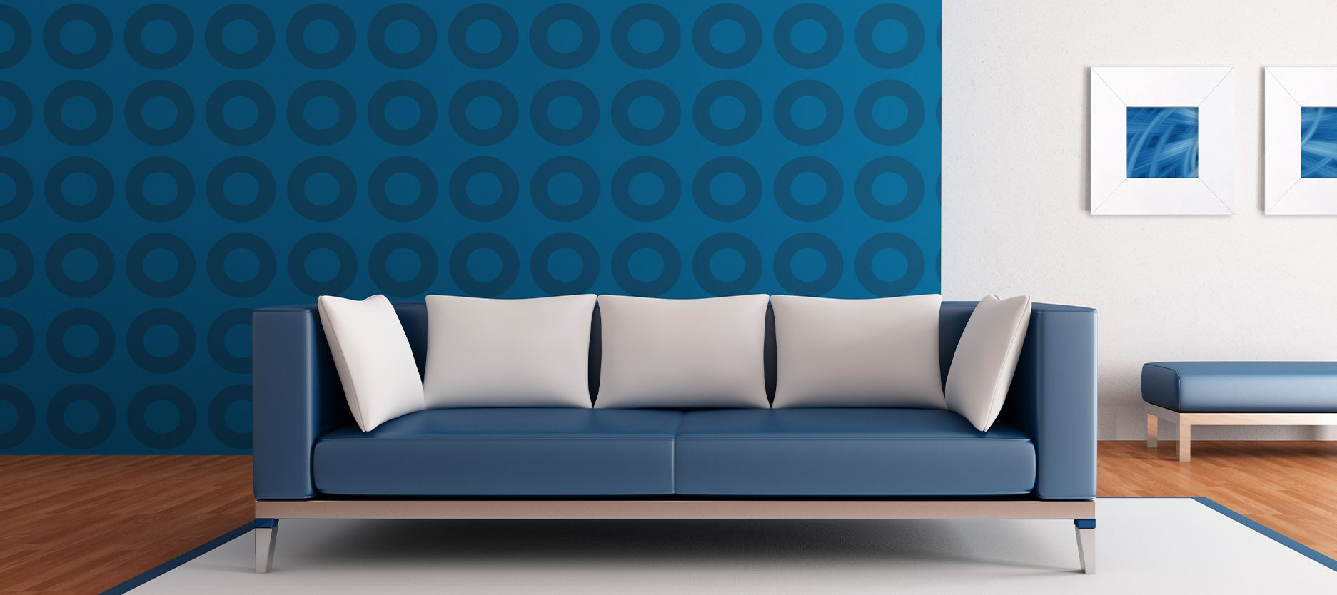 6 Best Blue Wall Paint Combination Schemes