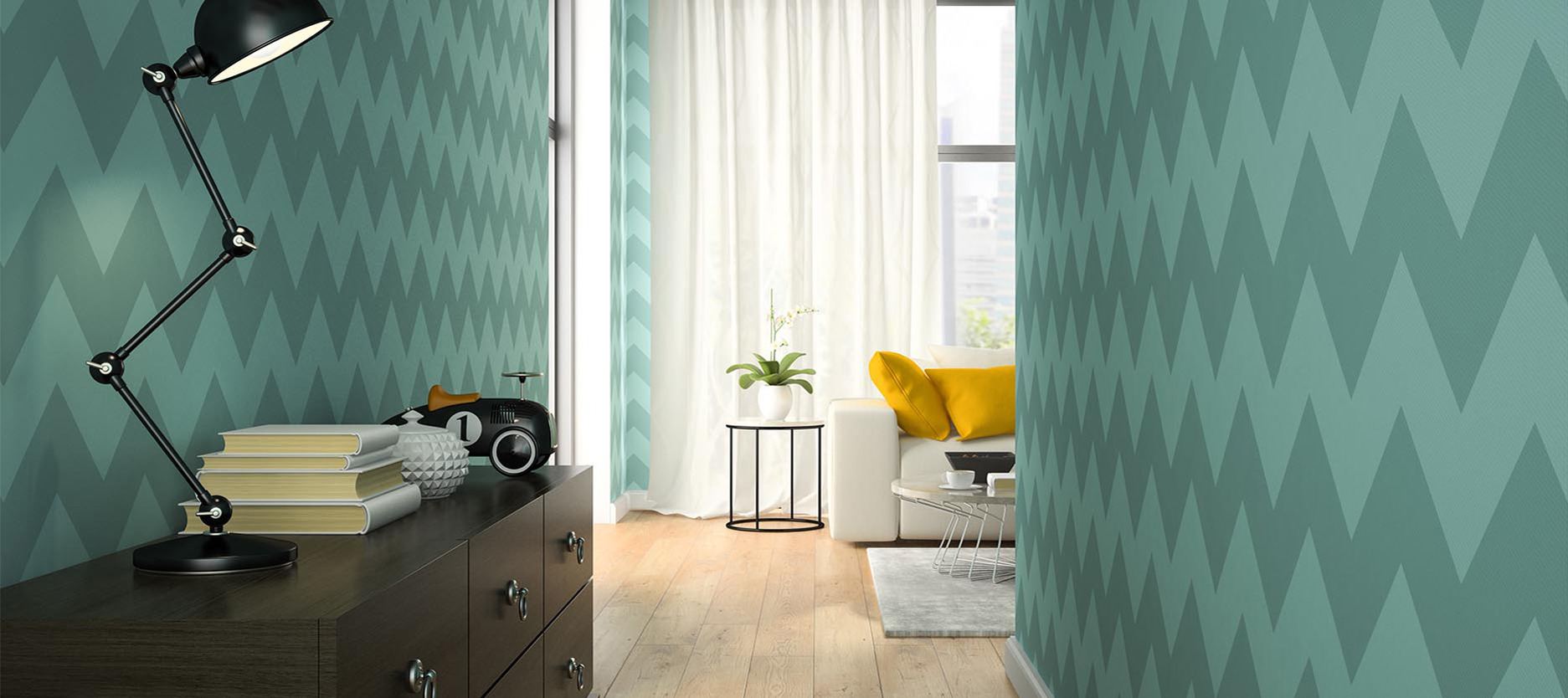 6 Colours to Enhance the Look of Your Hallway