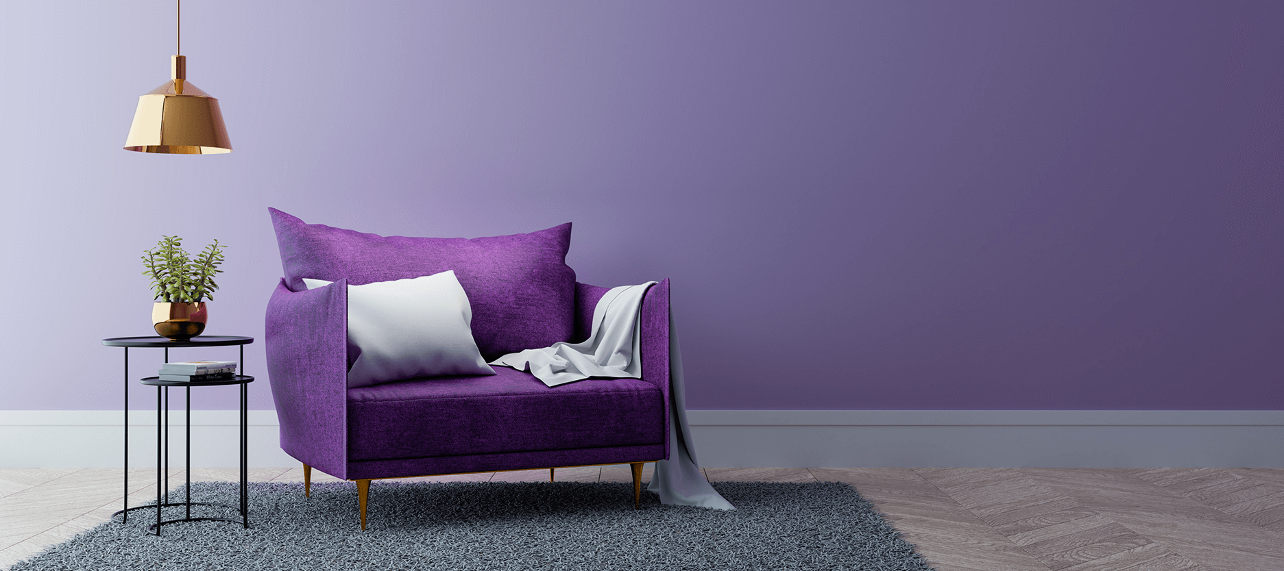 Colour Tricks to Make Your Tiny Room Look And Feel Spacious