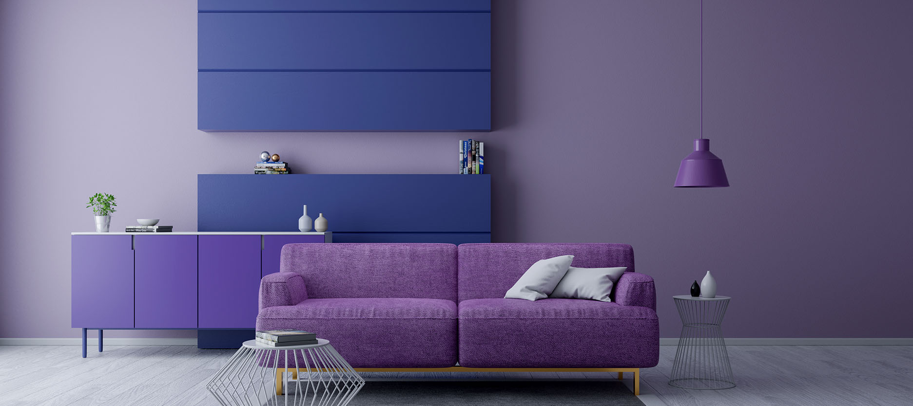 Experiment with 5 Shades of Purple in Your Home