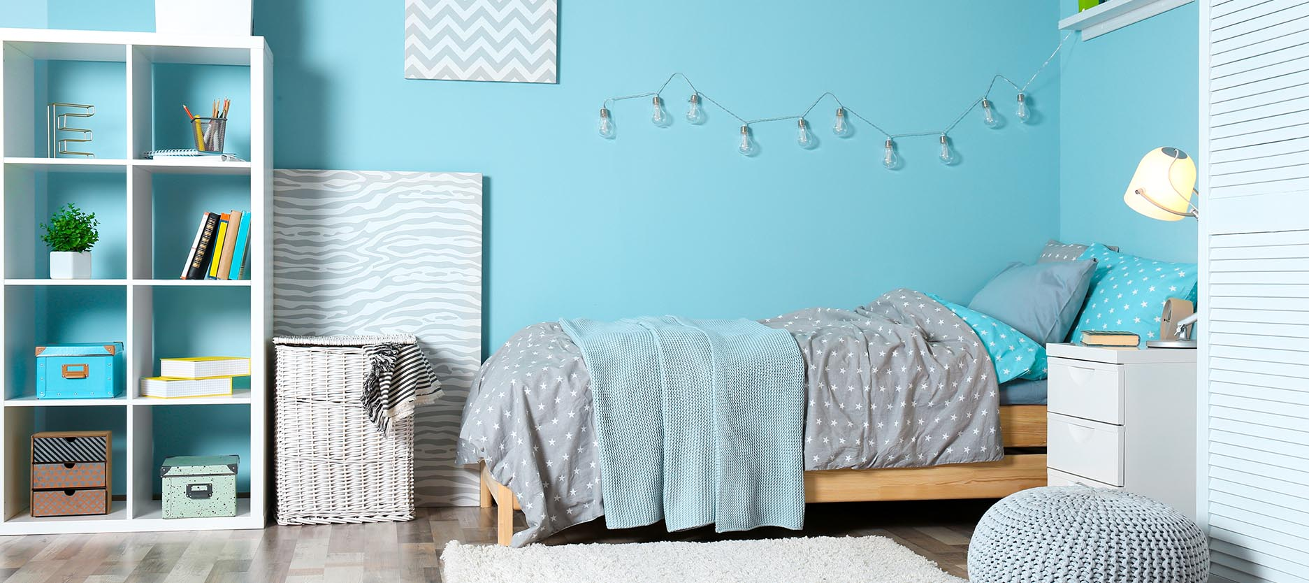 How to Select Colour Shades for Kids Bedroom
