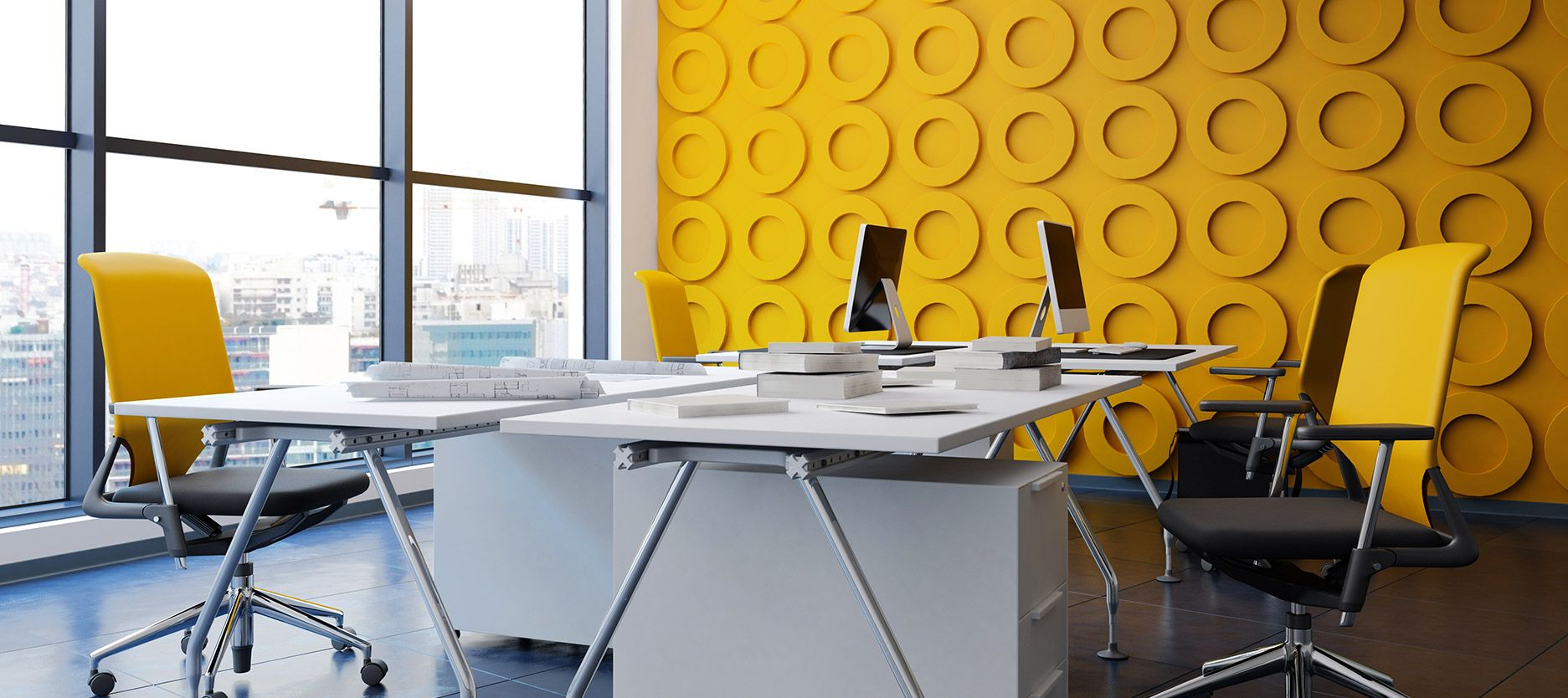 Make Your Office Happier with the Right Paint Colours