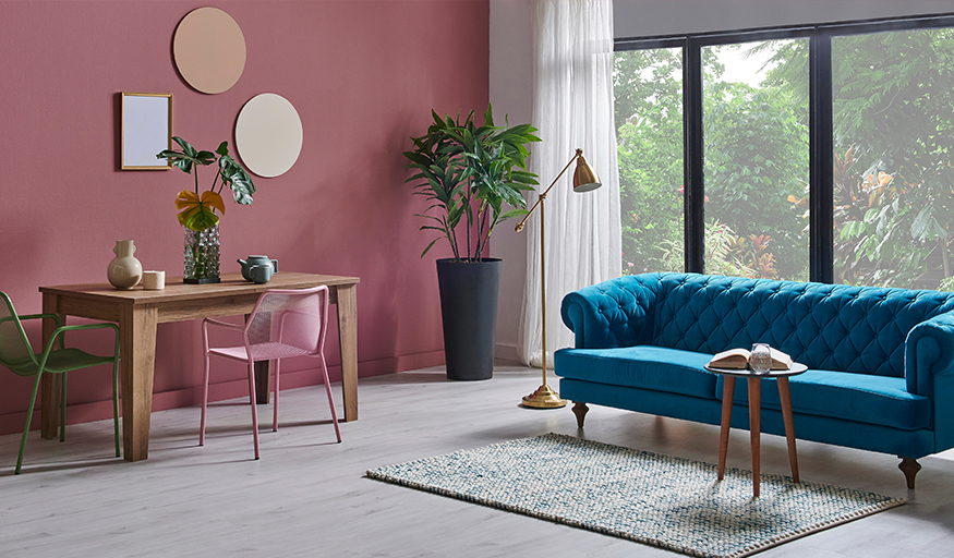6 Pink Home Decorating Techniques