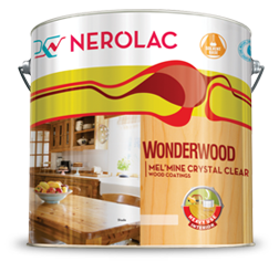 NEROLAC WONDERWOOD MEL'MINE CRYSTAL CLEAR WOOD COATINGS