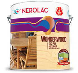 NEROLAC 2K PU INTERIOR WOOD PAINT COATINGS