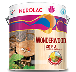 Nerolac Wonderwood 2K Pu Exterior Wood Paint
