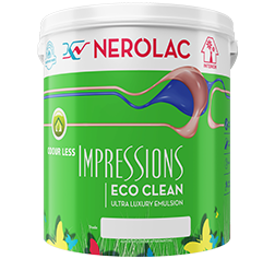 Nerolac Impressions Eco Clean - Interior House Paint