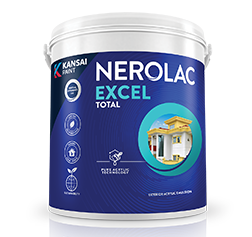 Nerolac Excel Total - Exterior Acrylic Emulsion Paint