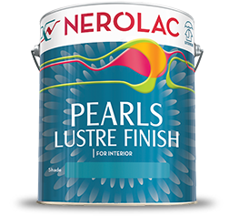 Nerolac Pearl Lustre Finish – Solvent Based Interior Paint