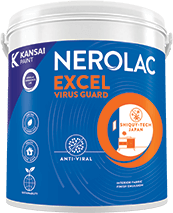 Nerolac Excel Virus Guard - Anti Bacterial Paint