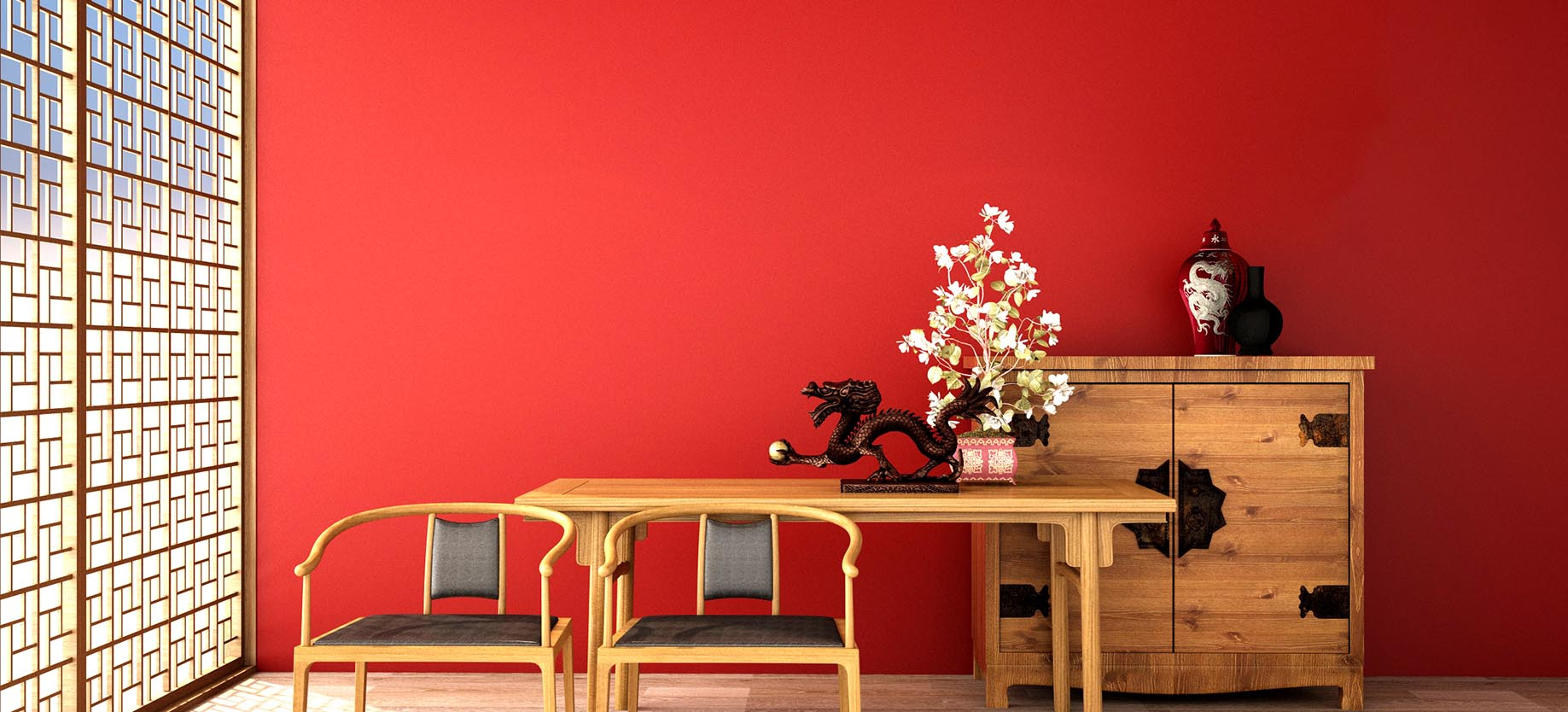Red Paint Colours: Add The Positive Energy To Your Home