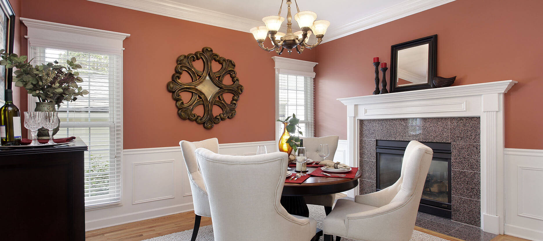 Dining Room Colours to Dazzle Your Dinner Guests