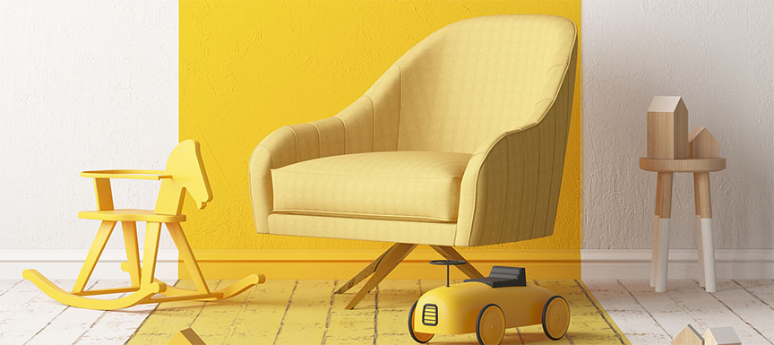 Yellow Wall Paint Colour