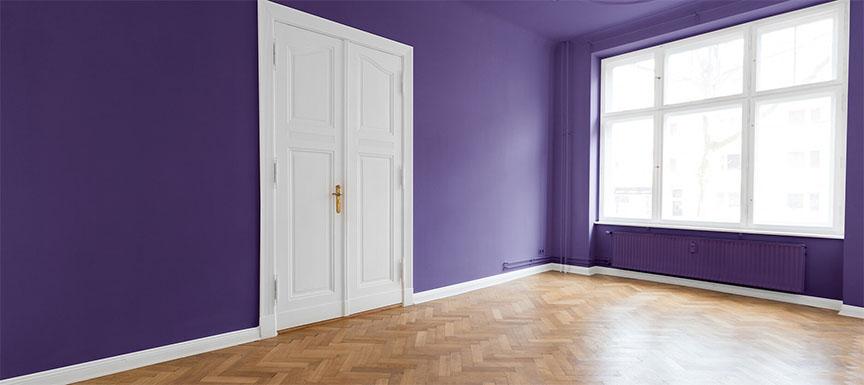 Purple Wall Paint Colour