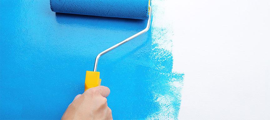 Blue Wall Paint Colour