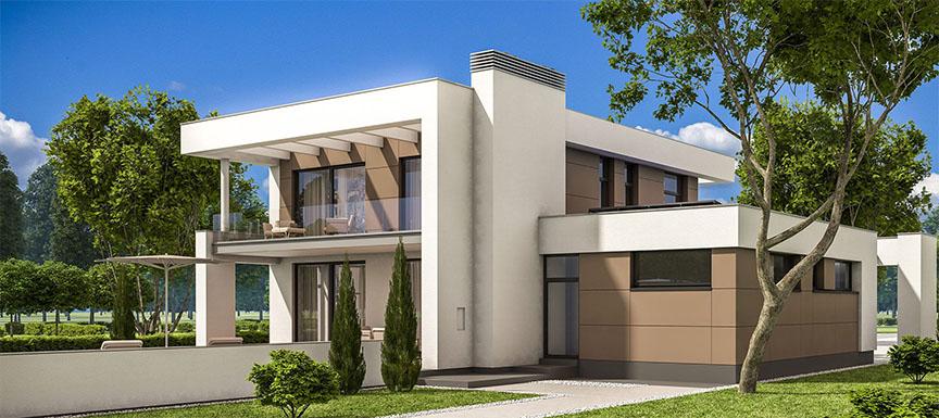 Simple Indian Home Exterior Design