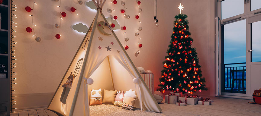Camping Inside the Bedroom