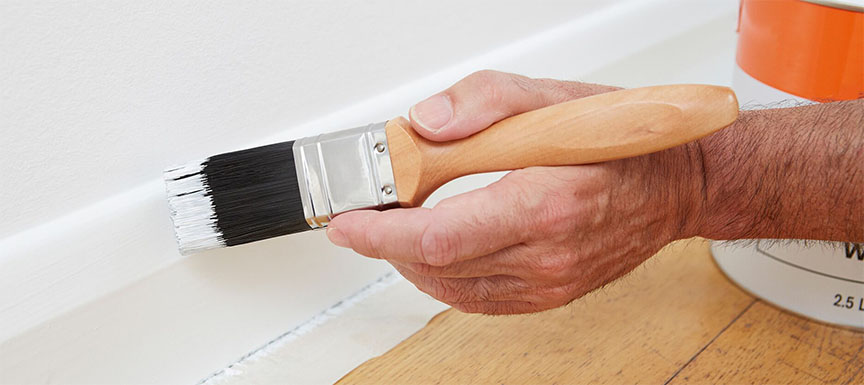Paint by Hand for Precision