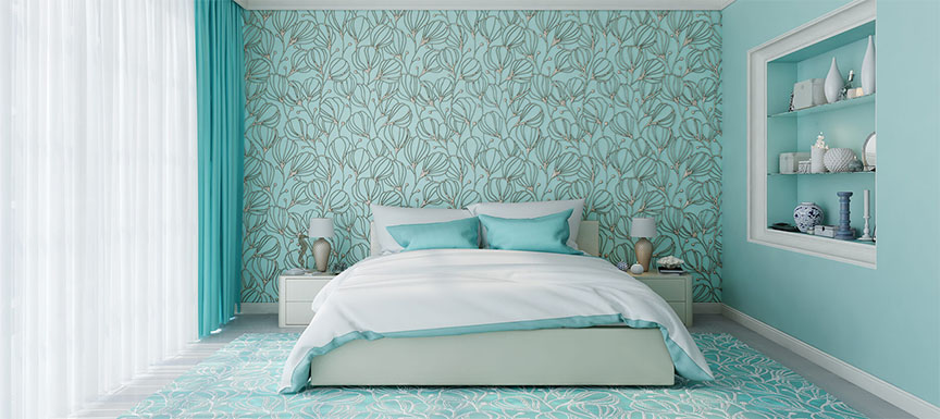 Best Two Colour Combination Ideas For Bedroom Walls Kansai