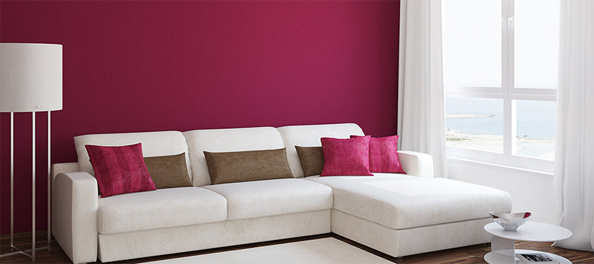 Best Two Colour Combination Ideas for Living Rooms ...