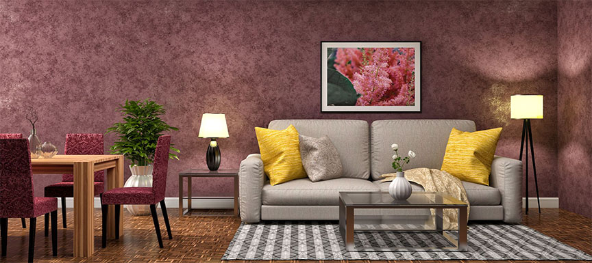 Royal Nerolac Texture Paint Designs Living Room