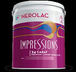 Nerolac Impressions 24 Carat