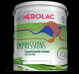 Nerolac Impressions Water Based Enamel