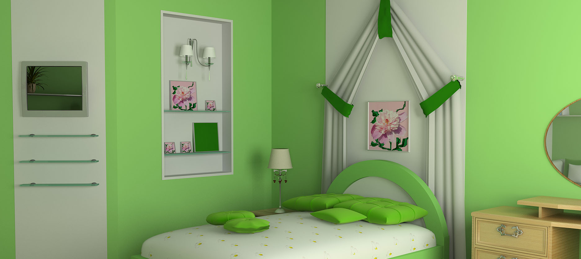 Wall Paint Design Ideas for Your Children's Bedroom
