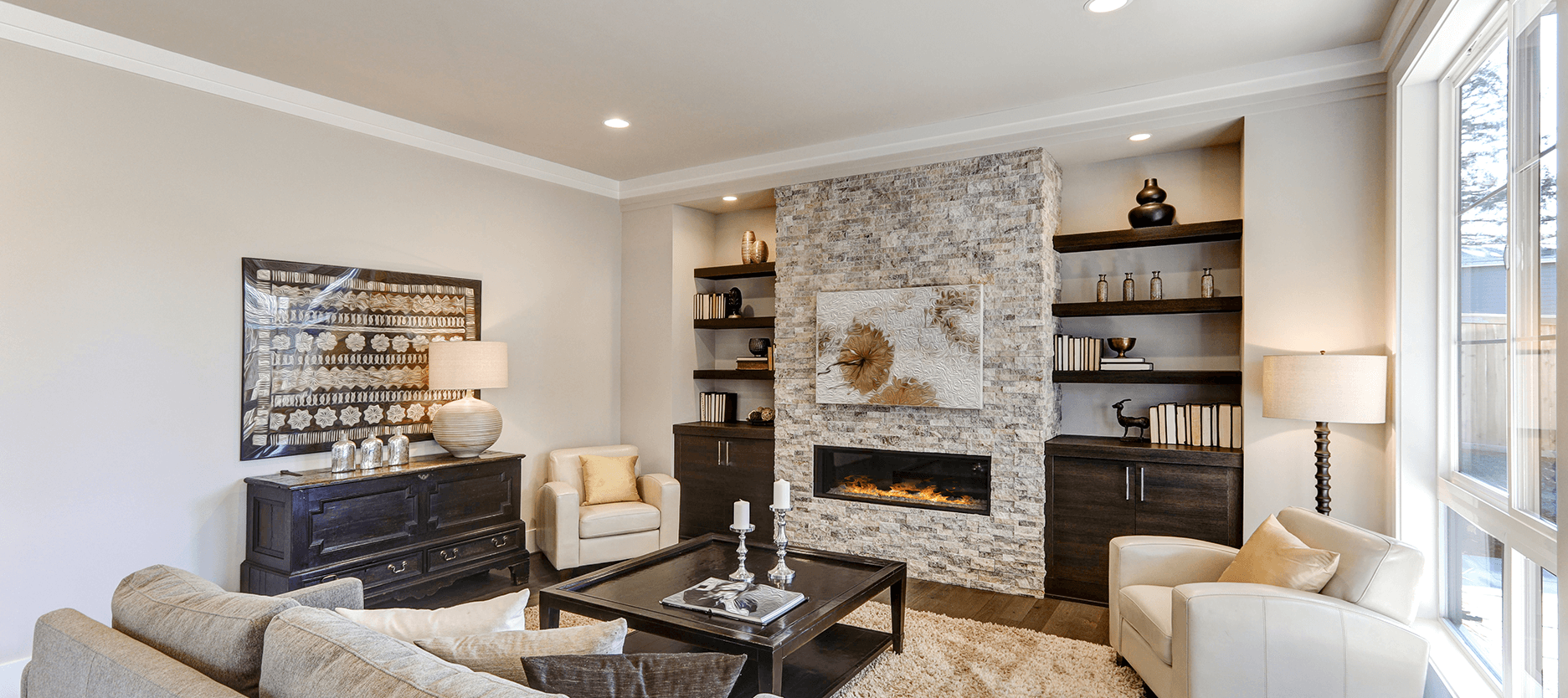 Wall textures to elevate your living room space