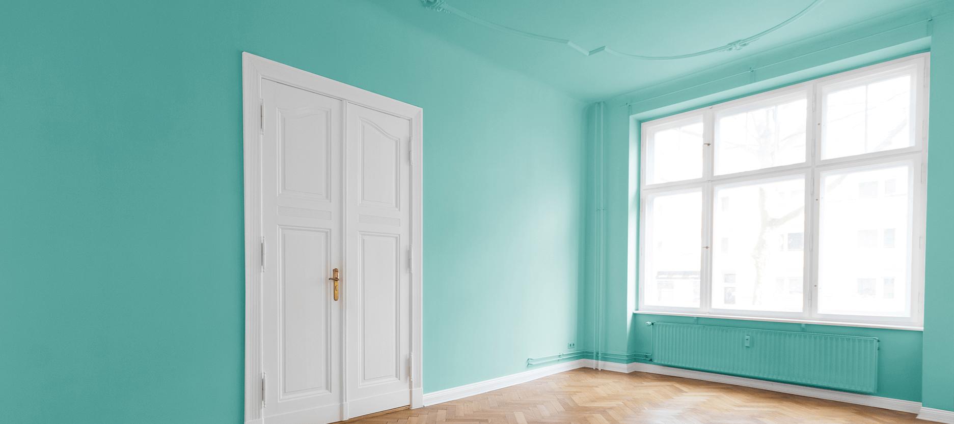 Aqua Room Color