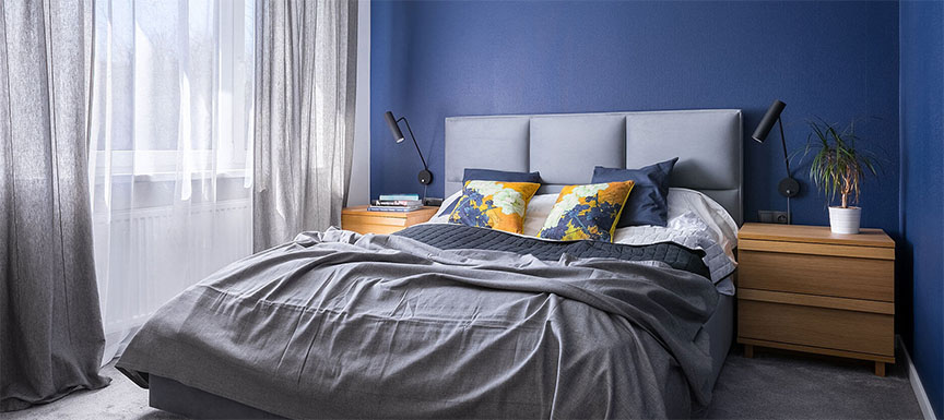Nerolac Bedroom Colors bold wall paint ideas that will transform your home | kansai nerolac